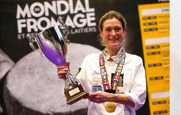 Virginie Dubois-Dhorne est Championne du Monde des Fromagers !
