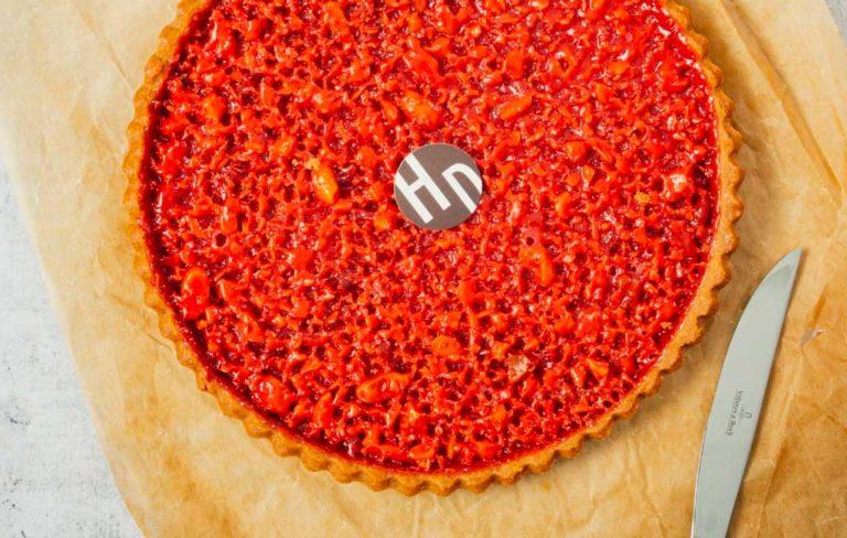 La tarte à la praline par Henri Desmoulins