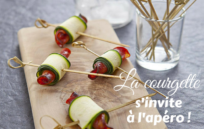 7 idées recettes de courgette pour l'apéro !