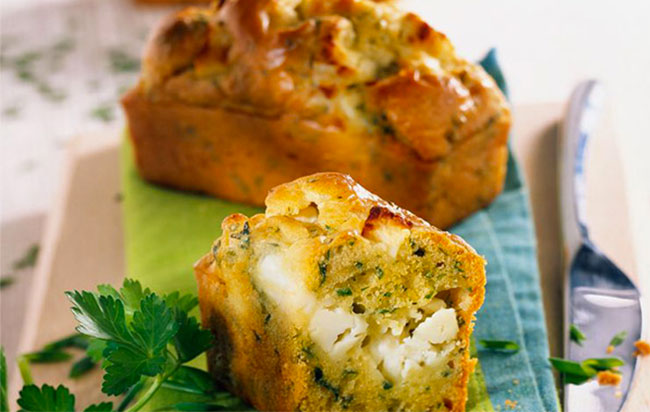 Recette mini-cakes aux courgettes pour l'apéro !