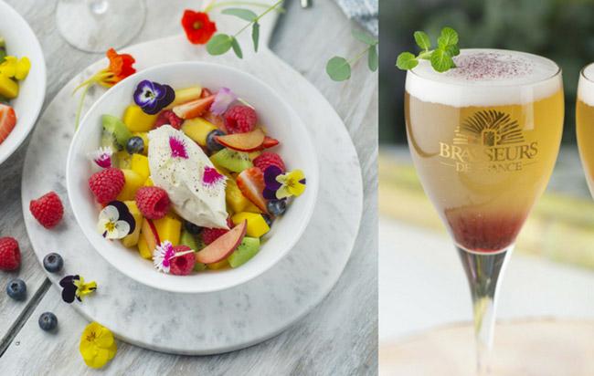 Salade de fruits et fleurs : Recette express pour un dessert light et original