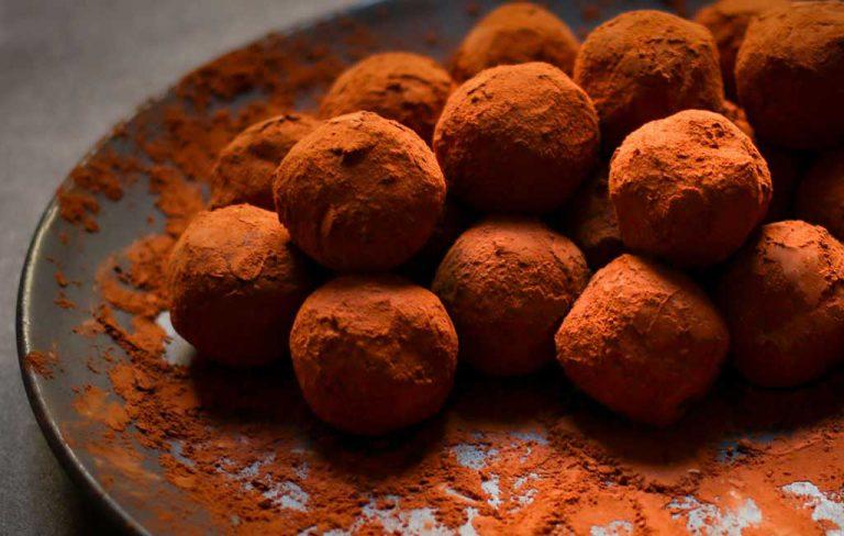 Recette des truffes au chocolat de Sharon Heinrich