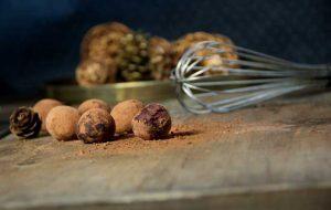 Les truffes au chocolat vegan