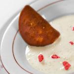 Gastronomie Lyonnaise, la soupe de riz au lait à la vanille de Christian Têtedoie