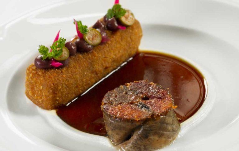 Gastronomie Lyonnaise... La tête de veau selon Julien Gautier