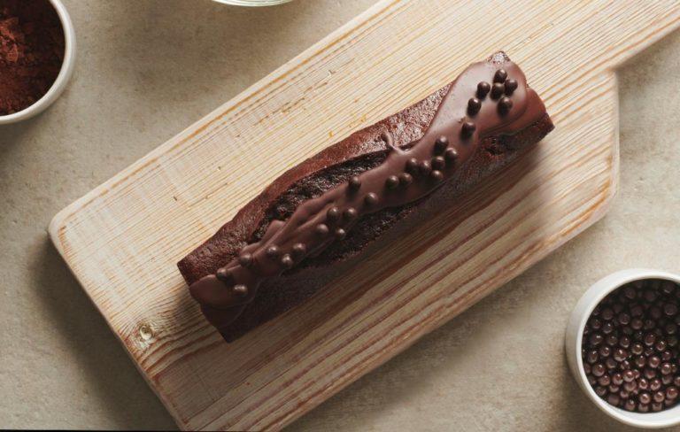 La recette du cake chocolat Valrhona