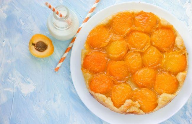 Recette de la tarte tatin aux abricots