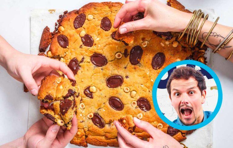 Le cookie géant de Juan Arbelaez