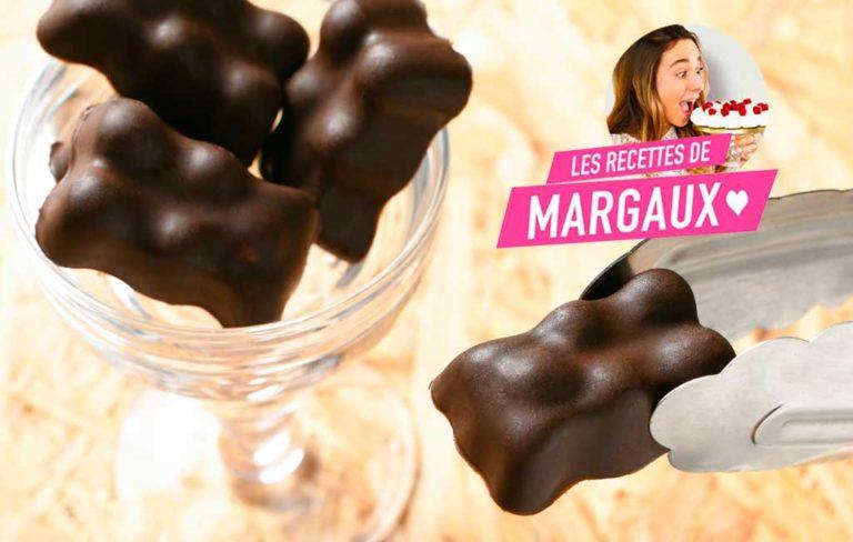 Les oursons chocolat de Margaux